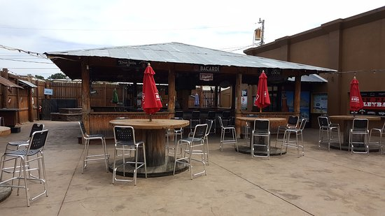 Altoona, WI: Our Tiki bar. The largest Tiki bar in the Area.