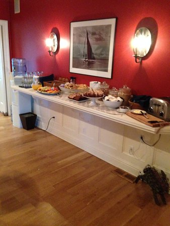 Stonington, CT: Breakfast buffet