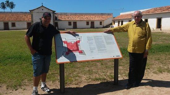 State of Pernambuco: visão interna Forte orange
