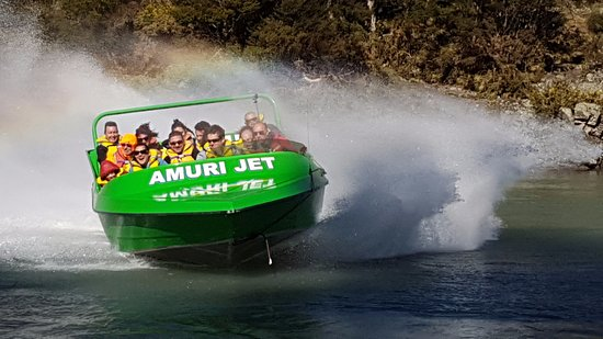 Hanmer Springs, Yeni Zelanda: Perfect day at Amuri Jet Boating