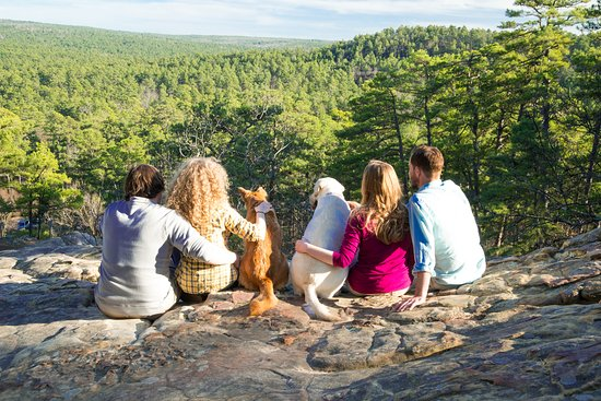 Oklahoma: Top Ten State Park Experiences: Robbers Cave State Park. Photo by Kim Baker.