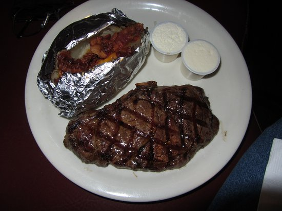 Monte Carlo Steak House Steakhouse 10 Ounce Ribeye