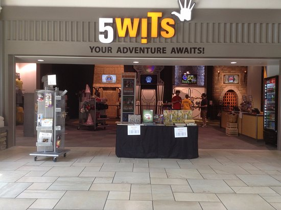 Our store front inside Destiny USA Picture of 5 Wits Syracuse
