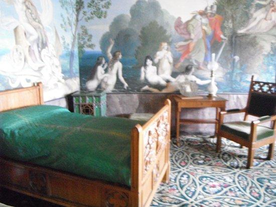Chambre à coucher royale - Photo de Schloss Hohenschwangau ...