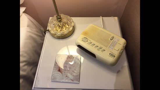 Llanddeiniolen, UK: Beautifully presented boutique alarm clock!