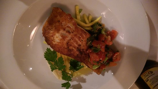 Foley's Townhouse and Restaurant: Lachs, Seafood Platte und Austern