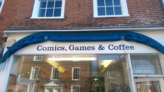 Comics, Games and Coffee