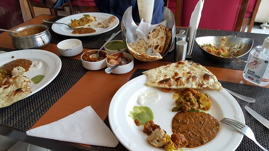 The Yellow Chilli: What we ordered
