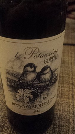 La Bussola: Belo vinho