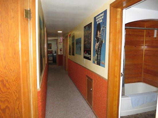 Driggs, ID: upstairs hallway