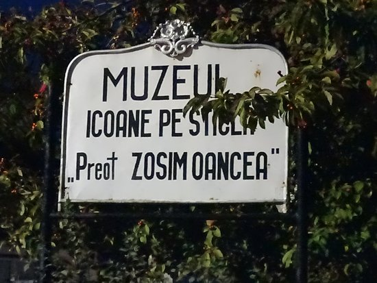 Sibiel, โรมาเนีย: Табличка с названием музея.