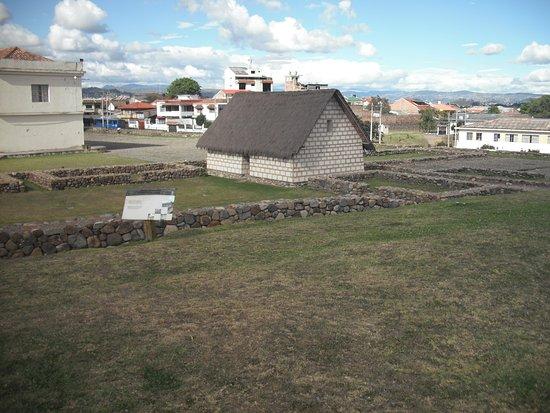 Pumapungo Museum and Arqueological Park - MCYP : Recreación de vivienda incaica