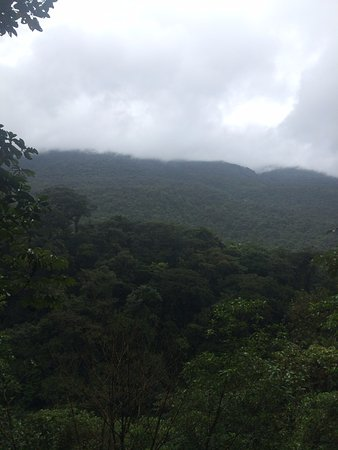 Tenorio Volcano National Park, Costa Rica: view from el mirador (observatory)