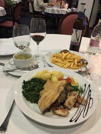 Restaurant Hotel Alpinum Jezero: Dinner was good!:)