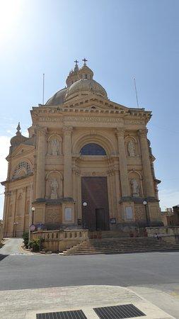 Xewkija, Malta: From the parking lot