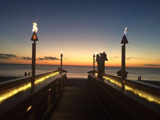 Vanderbilt Beach, FL: Traumhafter Sonnenuntergang