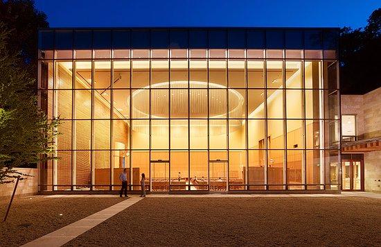 Wellesley, MA: Temple Beth Elohim Sanctuary at Night