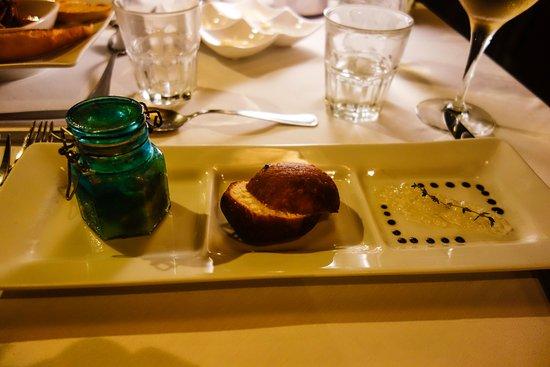 manu tuki foie gras de canard with rusty jar
