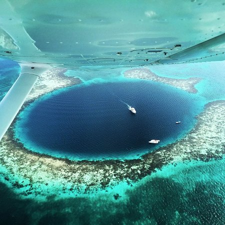 Long Caye, Belice: The Great Blue Hole