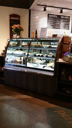 Perk Place Coffeehouse & Bakery: wonderful selection of yummy goodies