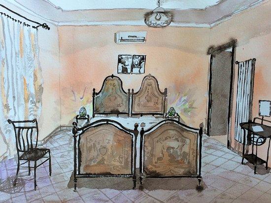 Genazzano, อิตาลี: Ein liebevoll eingerichtetes Dopplezimmer mit anschließendem Zimmer D/WC