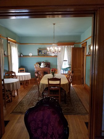 Lodi, WI: Dining room where breakfast is served