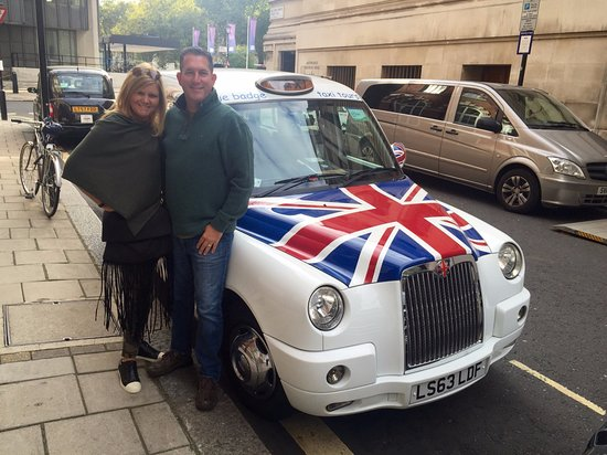 Bryan Gorin's Blue Badge Tours : The Best-Known Taxi in London