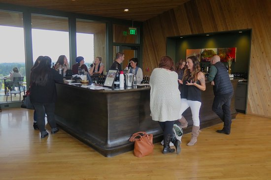 Dundee, OR: Tasting room