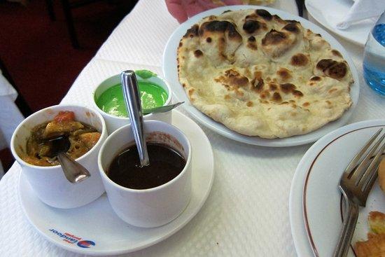 tandoor punjabi naan bread