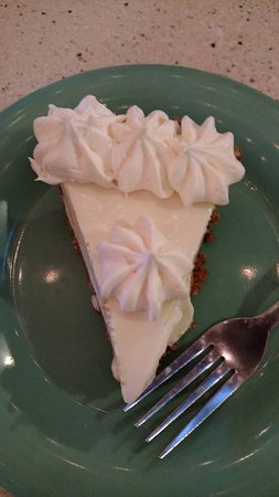 Scampy's Seafood Steak: key lime pie (homemade)