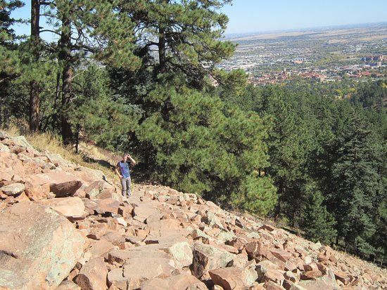 Boulder, CO: The city below