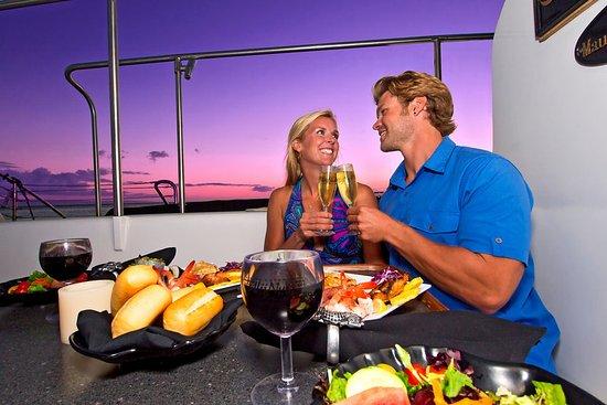 Maalaea, HI: Enjoy an intimate dinner & sunset aboard Alii Nui.