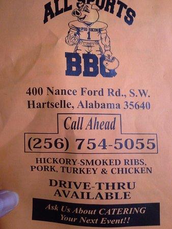 Hartselle, AL: Menu