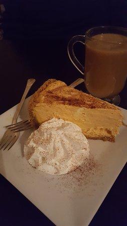 Weston, MO : Pumpkin cheesecake