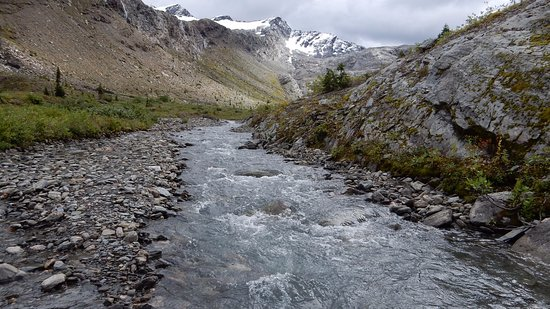 Selkirk Mountain Experience Lodge: Durrand Glacier Photo