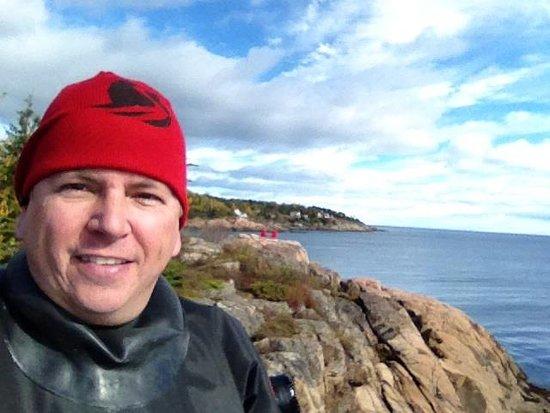 Les Escoumins, Kanada: Le paysage!