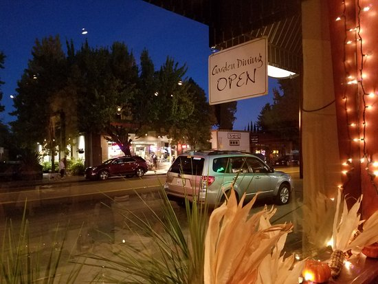 Willits, CA: View from a front window table