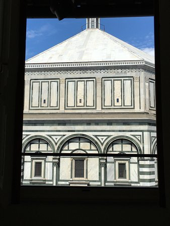 View from our Room Window - Picture of Soggiorno Battistero ...