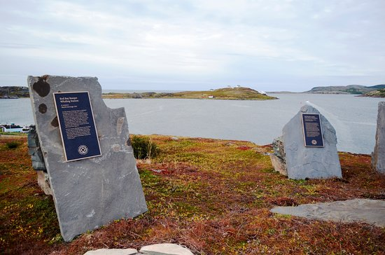 Red Bay, Kanada: Historic Plaques
