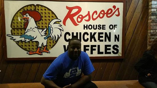 ‪‪Roscoe's House of Chicken & Waffles‬: i made it‬