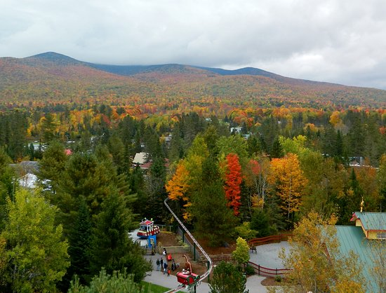 Jefferson, NH: arial view of the park