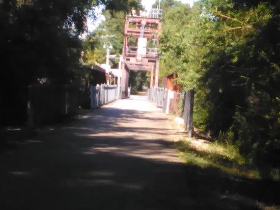 Slidell, LA: Drawbridge on the Tammany Trace Trail