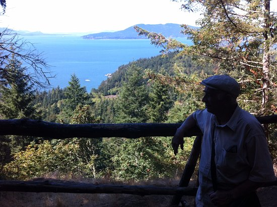 Larrabee State Park: At the viewpoint