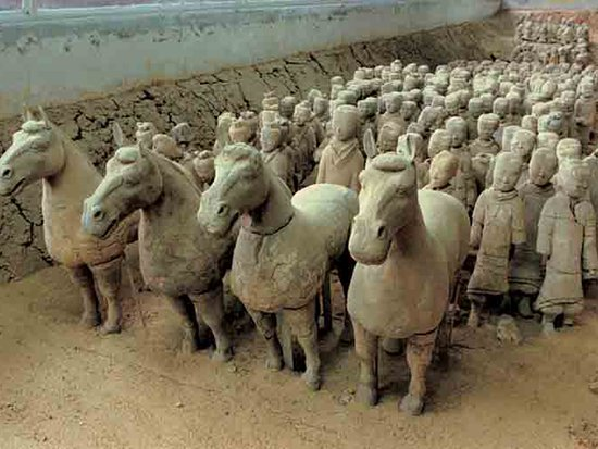 Jiangsu, China: Western Han Dynasty Terracotta Warriors