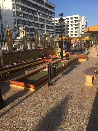 Minigolf Atlantico: Great fun !