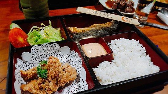 Hikaru Dining Saba Japanese Bento Box