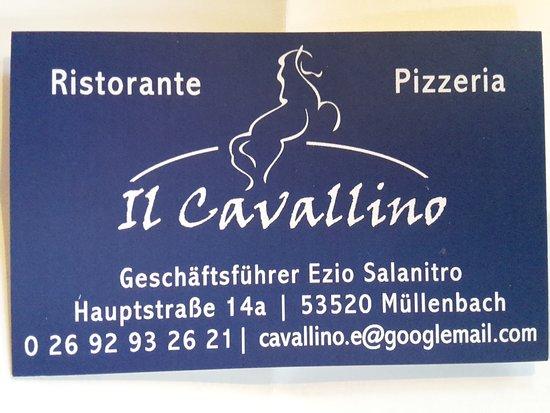 Müllenbach, Deutschland: Il Cavallino 53520