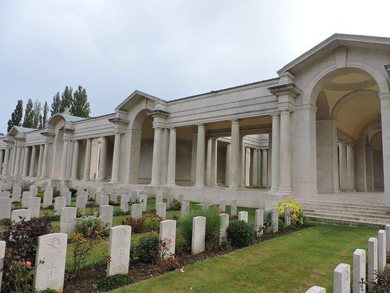 Arras, Frankrijk: Le mémorial vu de l'intérieur