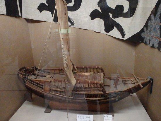 A Model Ship Of Kitamaebune Picture Of Kitamaebune Ship Museum Kaga Tripadvisor