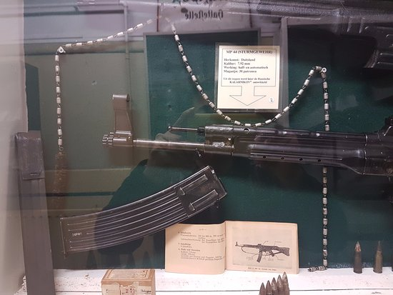 Arnhem War Museum : Weapons used